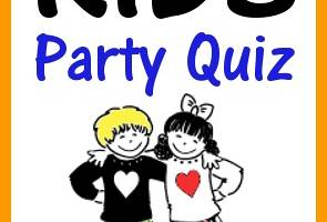 Kids Party Quiz Cover