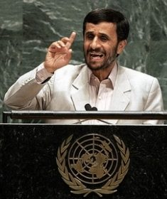 Iran (its Mahmoud Ahmadinejad)