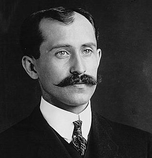Inventor: [its  Orville Wright of The Wright Brothers who invented powered flight]