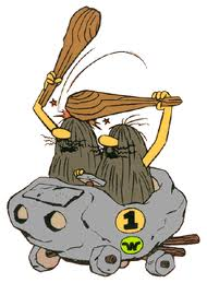 Wacky Races  characters the Slag Brothers