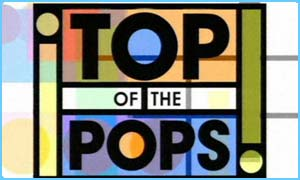 Top of  The Pops logo 90s