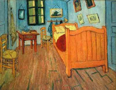 Van Gogh  (bedroom at Arles)