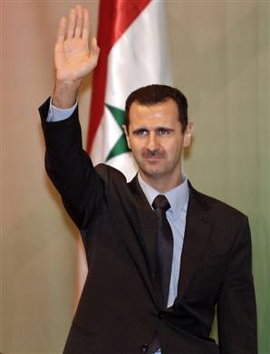 Syria (its Bashir  al-Assad)