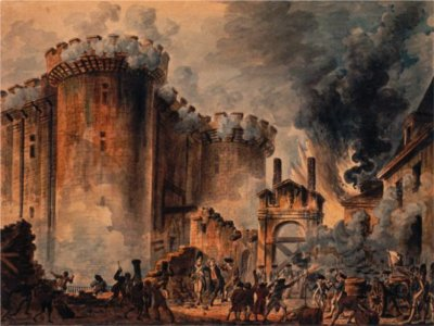 Paris (it's the Storming of  the Bastille)