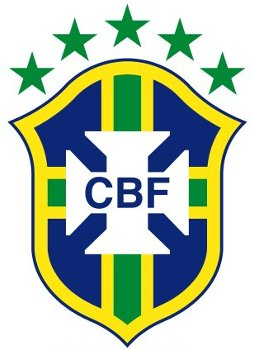 Brazil football badge