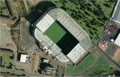 Celtic Park  from the air
