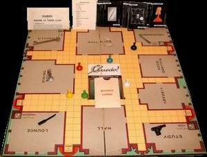 "Cluedo  (also accept American answer ""Clue"")"