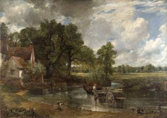 Constable –  the hay wain