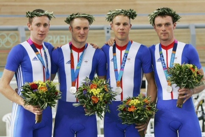 UK Olympic  medal winners 2004
