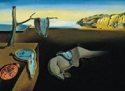 Salvador  Dali – piece is called The Persistence Of Memory
