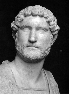 Hadrian (clue refers to  Hadrian's Wall)
