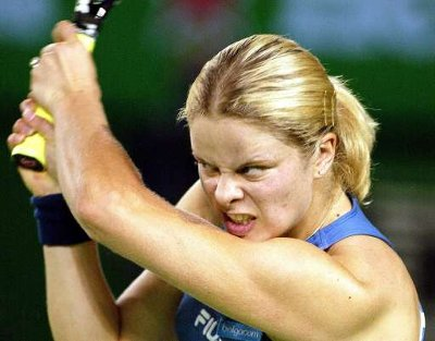 Belgian  (its Kim Clijsters)