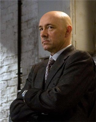 Kevin Spacey plays Lex Luthor