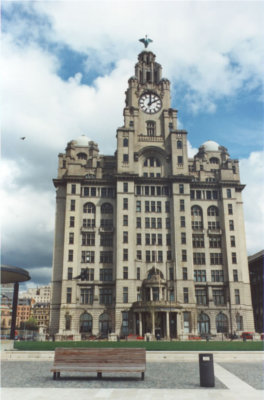 Liverpool (it's the Liver Building)
