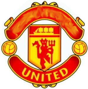 Man United football badge