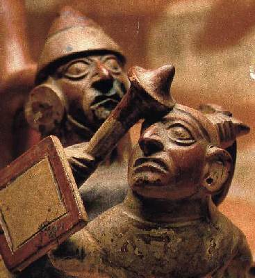 The Moche people of South  America