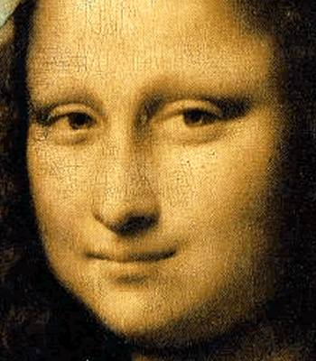 Leonardo da  Vinci - (it's the Mona Lisa)