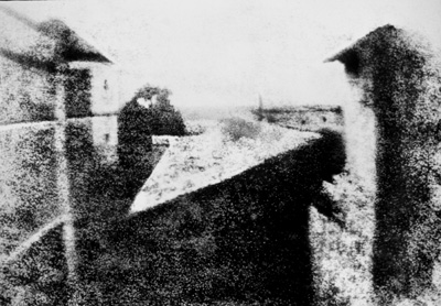 worls'a first known photograph, from 1826