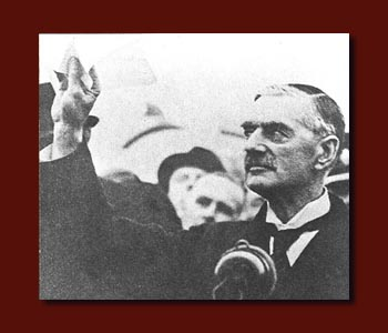 Politician (Neville Chamberlain who was UK Prime Minister at  outbreak of WW2)