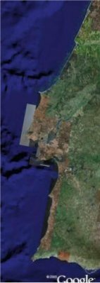 Portugal  satellite view