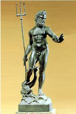 Poseidon or Neptune - god  of the sea
