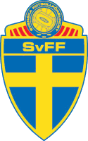 Sweden football badge