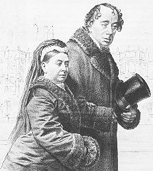 Queen Victoria and Benjamin Disraeli