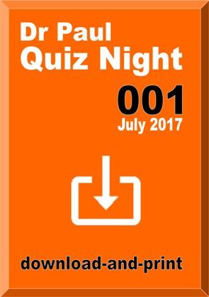 Dr Paul Quiz Night 001